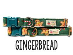 Gingerbread – Organic Cotton Collars & Leashes