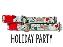 Holiday Party – Organic Cotton Collars & Leashes