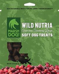 Marsh Dog Wild Nutria & Cranberry Soft Dog Treats
