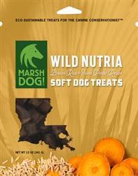 Marsh Dog Wild Nutria & Brown Rice and Sweet Potato Soft Dog Treats