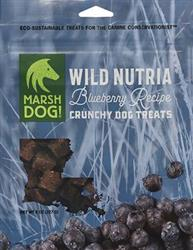 Marsh Dog Wild Nutria & Blueberry Crunchy Dog Treats
