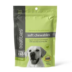 Introductory Size Soft Chewables (Beef Liver Flavor) - 3 mg CBD for Dogs