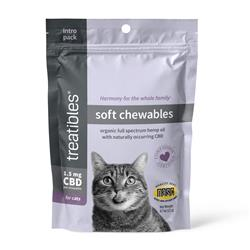 Introductory Size Soft Chewables (Chicken Liver Flavor) - 1.5 mg CBD for Cats