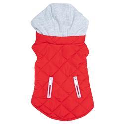 Weekender Dog Sweatshirt Hoodie - Red