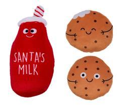 Milk & Cookies Dog Toys, Set of 3