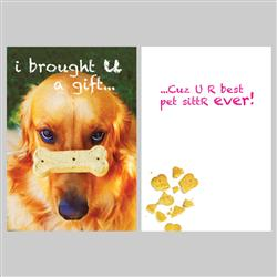 Pet Sitter - I brought you a gift