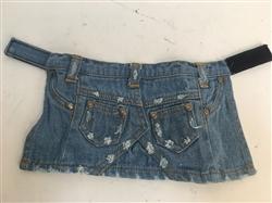 Denim Stonewashed Skirt