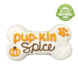 "Pup-Kin Spice 6"" Bone"