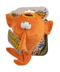 goDog Action Plush Gold Fish