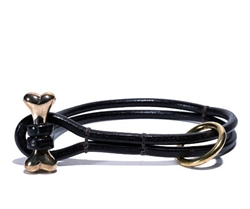 Bone Toggle Collar & Leash