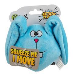 goDog Action Plush Blue Bunny