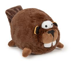 goDog Action Plush Beaver