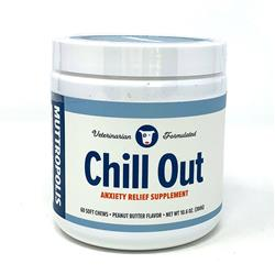 Muttropolis 'Chill Out' Calming Soft Chew Supplements, 60 Chews