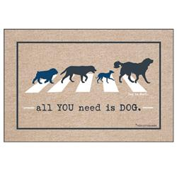 All you need is dog - Doormat