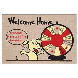 Spin Wheel welcome home- Doormat