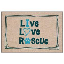 Live Love Rescue - Doormat