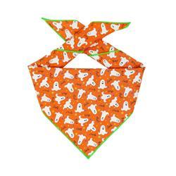 Halloween Bandana | Halloween Dog Bandana | Ghost Bandana | Glow in the Dark Fabric too!
