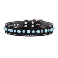 Cabachon Collar Suede with Turquoise