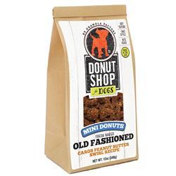 Mini Donuts - Carob Peanut Butter Swirl Recipe, 12oz. Bag