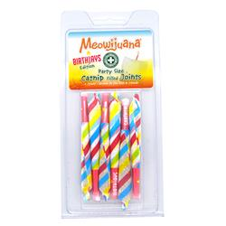 Meowijuana® - Birthjays™ - Party Sized Catnip Joints - Case Pack - 12/case
