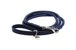 VP Pets Woven Leash Navy Blue