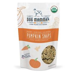 Organic Pumpkin Snaps Pumpkin Carrot Ginger Crunchy Dog Treat USDA Organic Certified