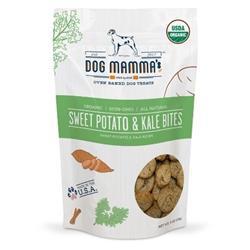Organic Sweet Potato & Kale Bites USDA Organic Certified Crunchy Dog Treat