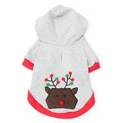 Pom Pom Reindeer Pullover Hoodie