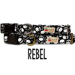 Rebel – Organic Cotton Collars & Leashes