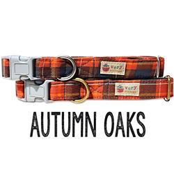 Autumn Oaks – Organic Cotton Collars & Leashes