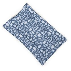 Camping Cotton Fabric Flat Pet Bed