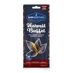 Harvest Buffet Sticks 3pk by Barkworthies