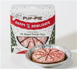 Happy Howlidays Pup PIE (Pack of 8) by The Lazy Dog