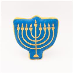 Hanukkah Squeakie Pattiez Menorah by Zippy Paws