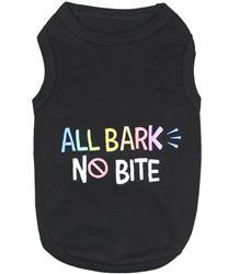 All Bark No Bite Dog T-Shirt