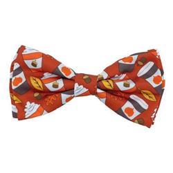 Pupkin Spice Latte Bow Tie by Huxley & Kent