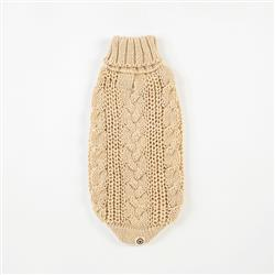 Eco Cable Natural Sweater