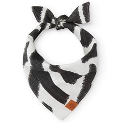 Ebony Zebra Dog Bandana