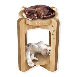 Cozy Cat Scratcher Tower