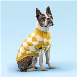 Chess Yellow Sweater