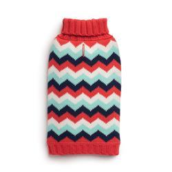 Melon Chevron Sweater