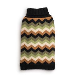 Black Chevron Sweater