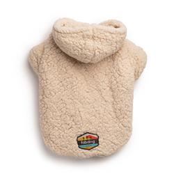 Cream Sherpa Hoodie