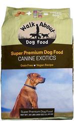 Canine Exotics Vegan Recipe Dog Food, 25 lb. Bag