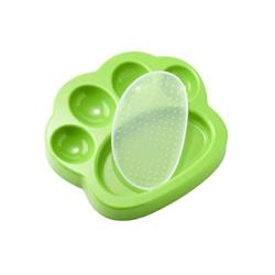 PAW 2-in-1 Slow Feeder & Lick Pad Mini Green (Cats & Dogs)