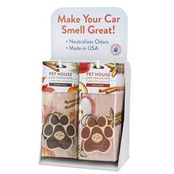 Pet House Car Freshener Counter Top Display - Fall