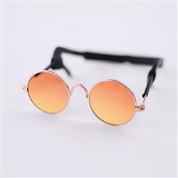 Dog Sunglasses: Orange