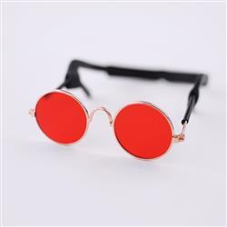 Dog Sunglasses: Red