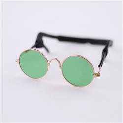 Dog Sunglasses: Green