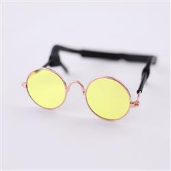 Dog Sunglasses: Yellow